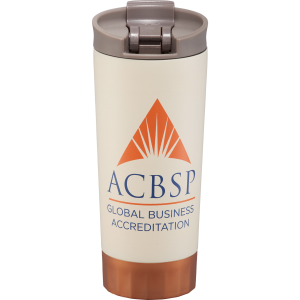 Cutter & Buck® Bainbridge Copper Vacuum Tumbler 16 oz